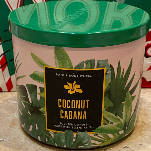Coconut Cabana Candle 3 Wick